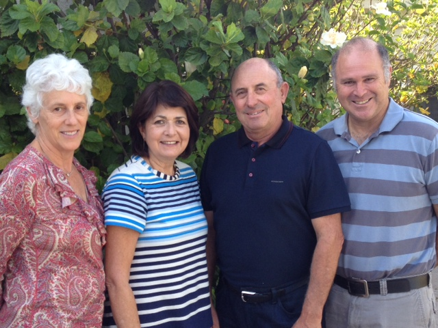 ChaiSouthAfrica Founders L to R: Claire Ellman, Felicia Mandelbaum, David Mandelbaum, Charles Jaffe